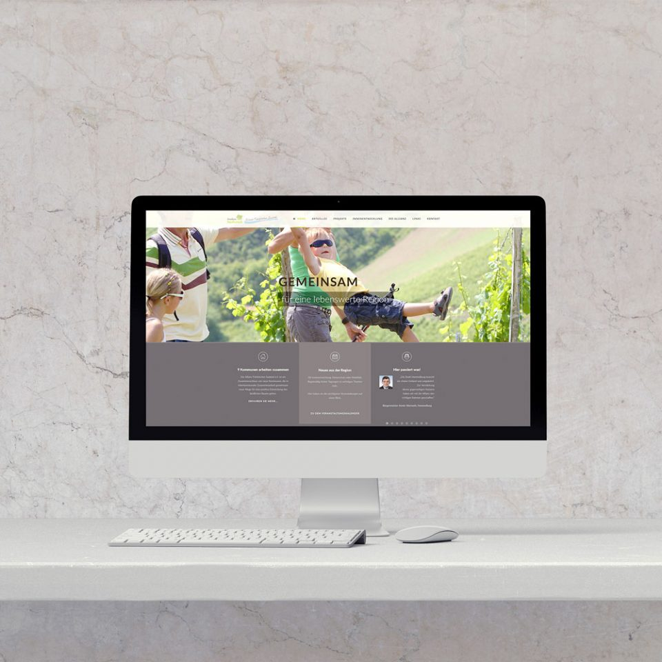 Fränkisches Saaletal e.V. Webdesign