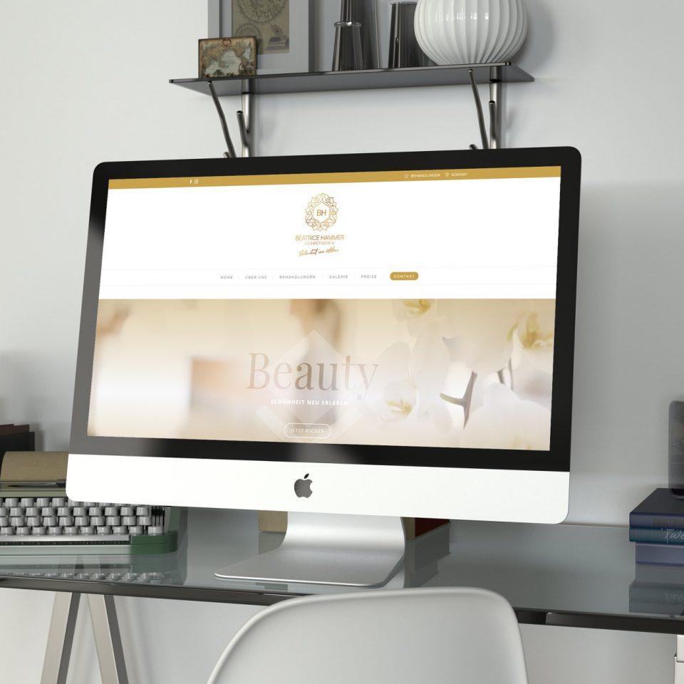 Homepage Beatrice Hammer