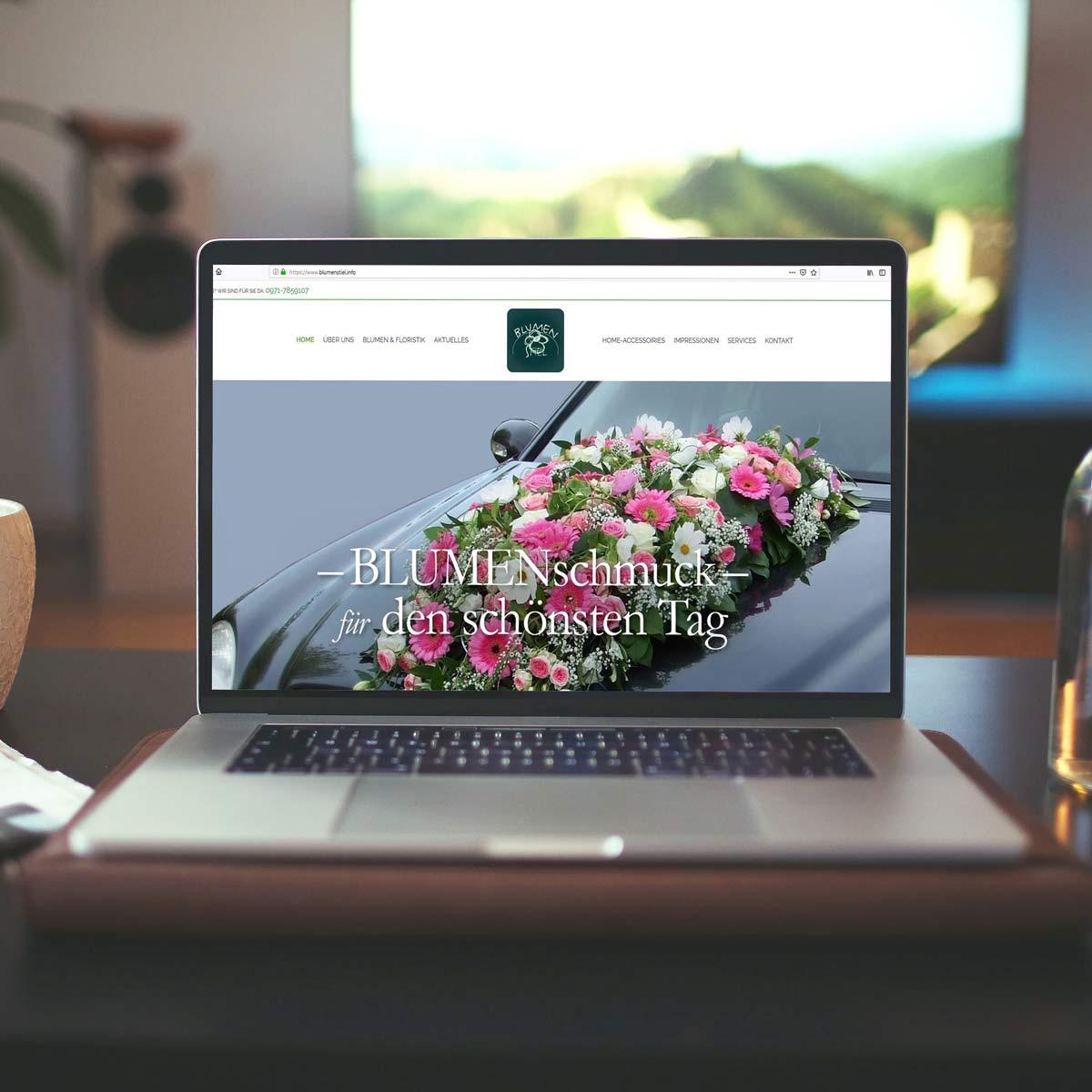 Website Blumenstiel