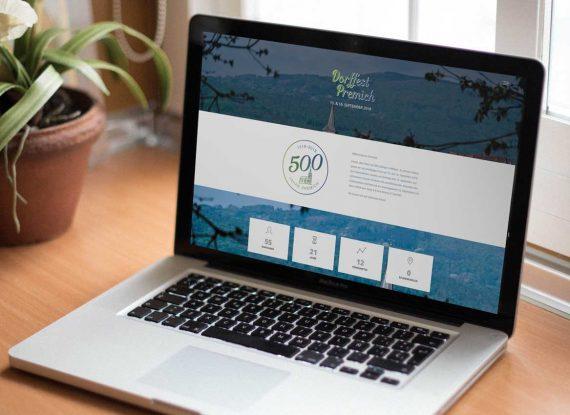 Website 500 Jahre Premich