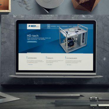 Relaunch Internetauftritt HD tech