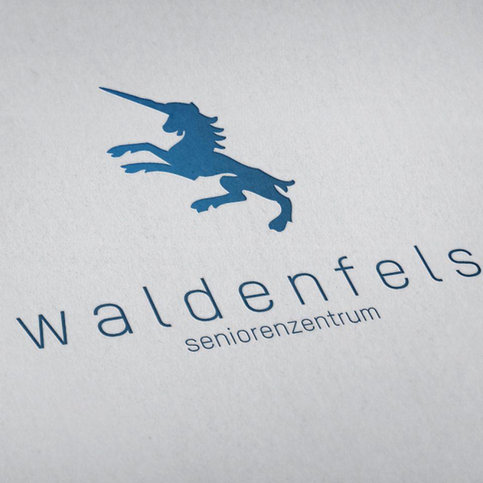 Logodesign Seniorenzentrum Waldenfels