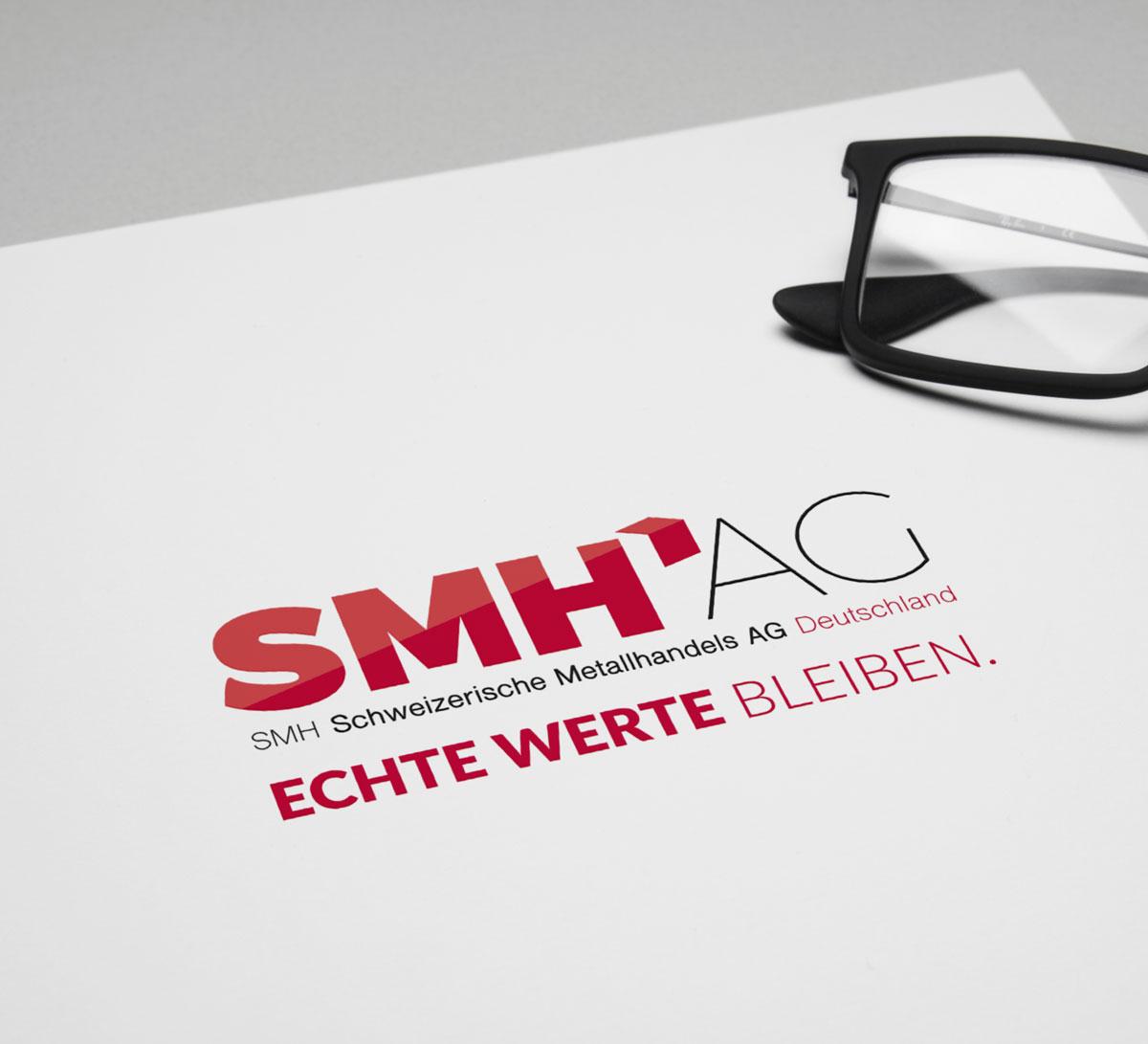 Neues Logo für die SMH AG