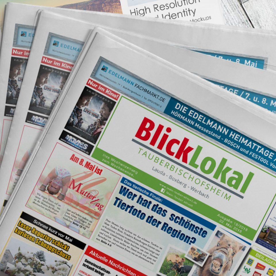 Wochenzeitung BlickLokal