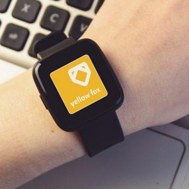 Logodesign Yellow Fox