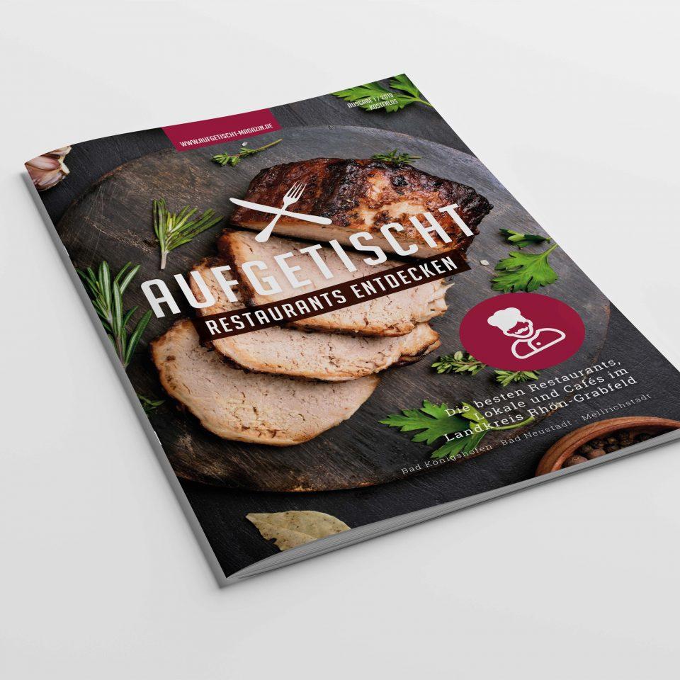 Restaurantführer Aufgetischt Rhön-Grabfeld 2019