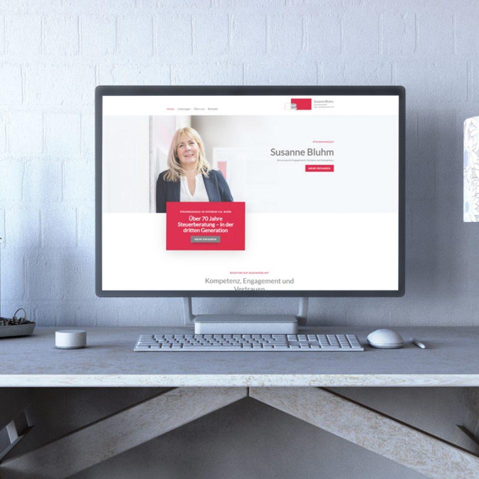 Steuerkanzlei Bluhm Website