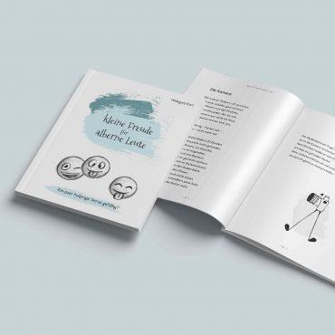 """Buch """"kleine Freude für alberne Leute"""""""