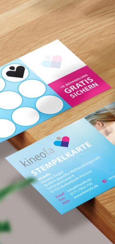 Stempelkarte Kineofa
